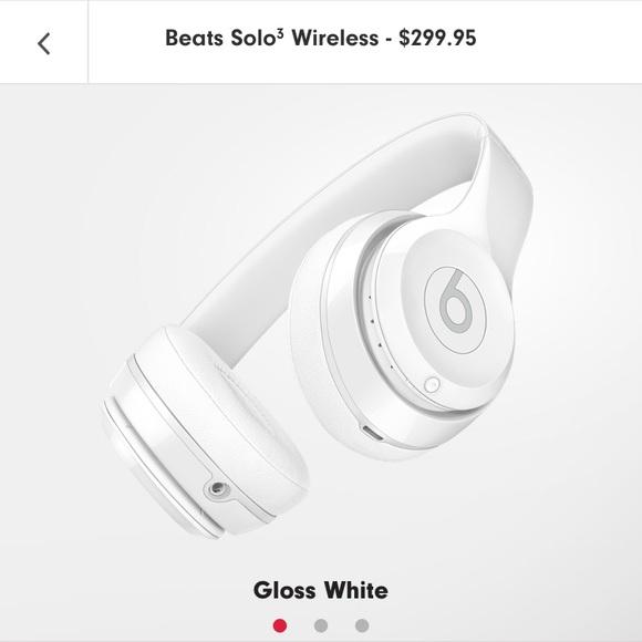 b5908c15a68 beats Other | Solo3 Wireless Onear Headphones Gloss White | Poshmark